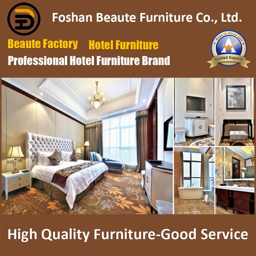 Hotel Furniture/Luxury King Size Hotel Bedroom Furniture/Restaurant Furniture/Double Hospitality Guest Room Furniture (GLB-0109811)