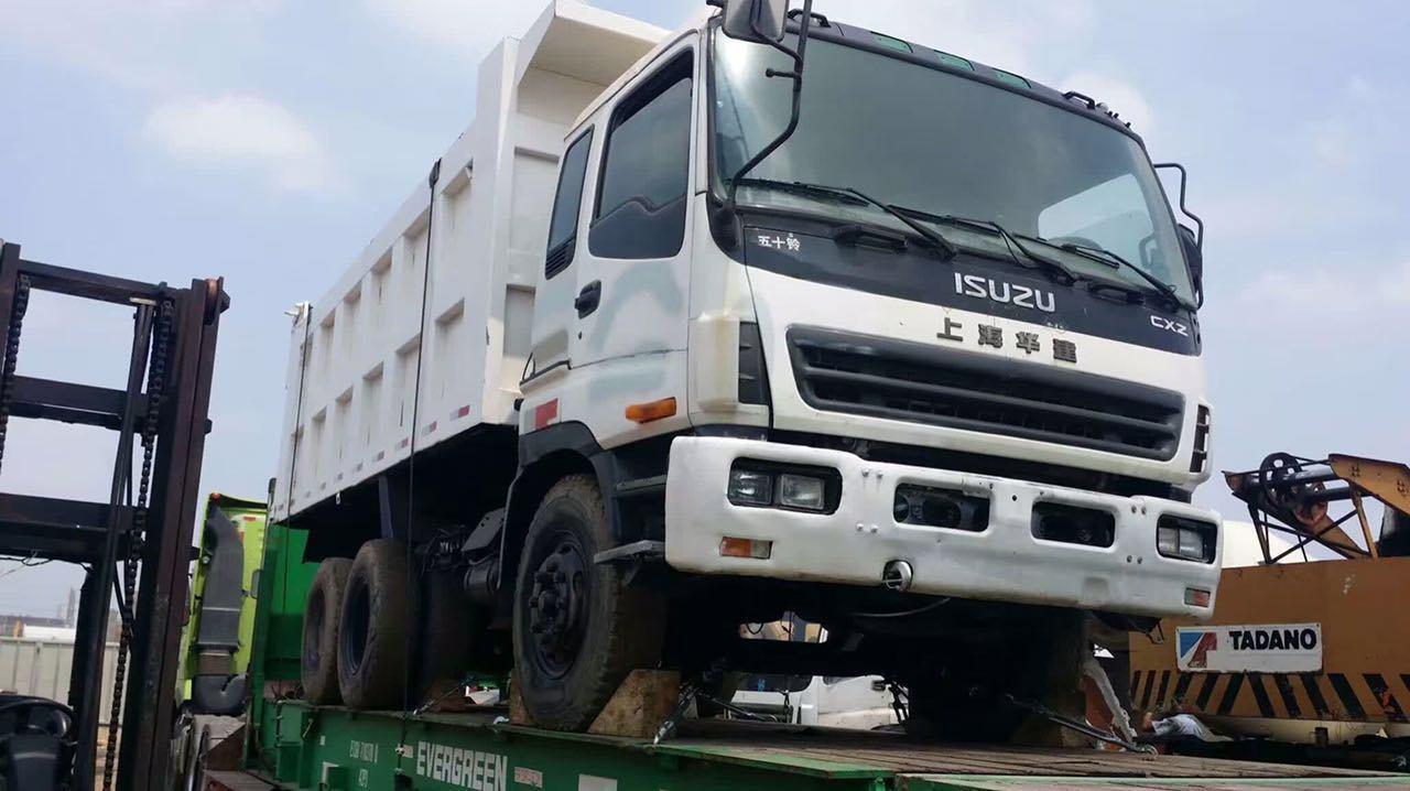 Used isuzu dump truck japan original truck isuzu brand for sale