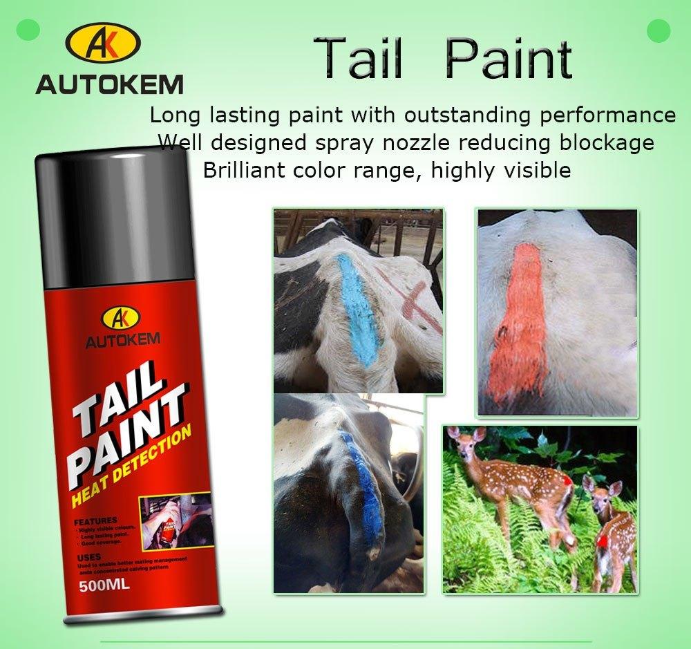 Alert Tail Paint, Tail Paint, Animal Marking Paint, Livestock Marking Paint, Aerosol Tail Paint