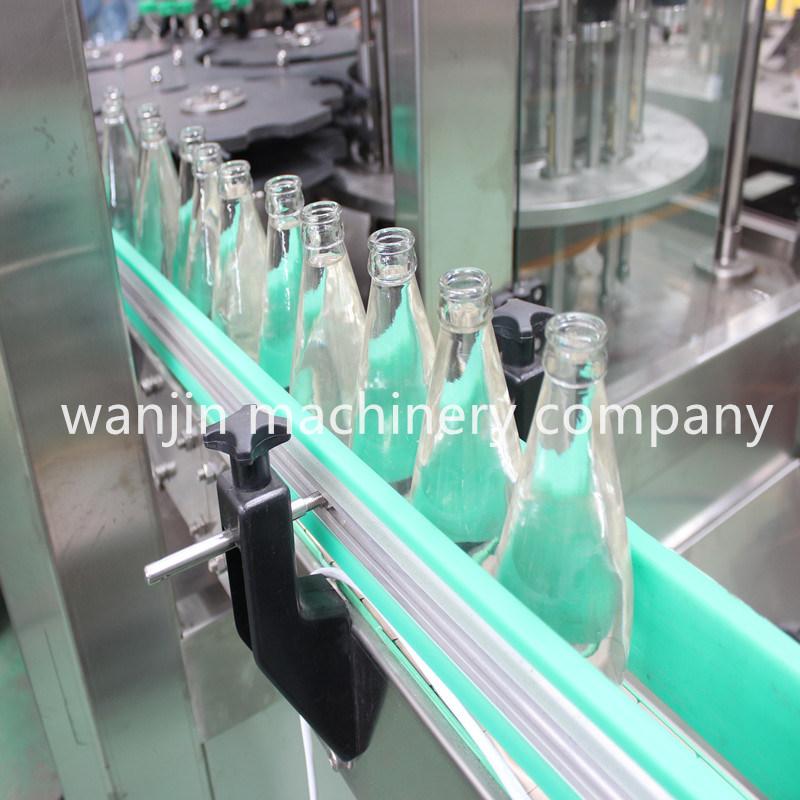 5000bph Glass Bottle Wine Bottling Line