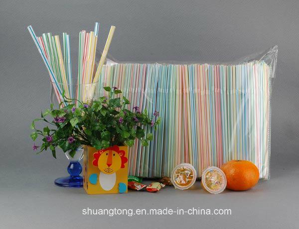 5mm Flexible Straw Plastic Disposable Art Drinking Straw