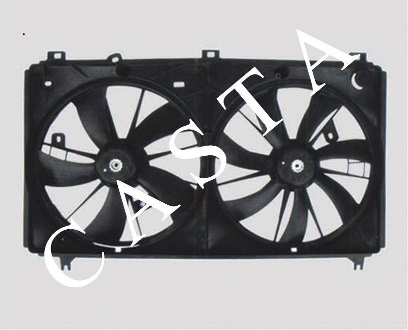 Auto radiator fan for Toyota Reiz