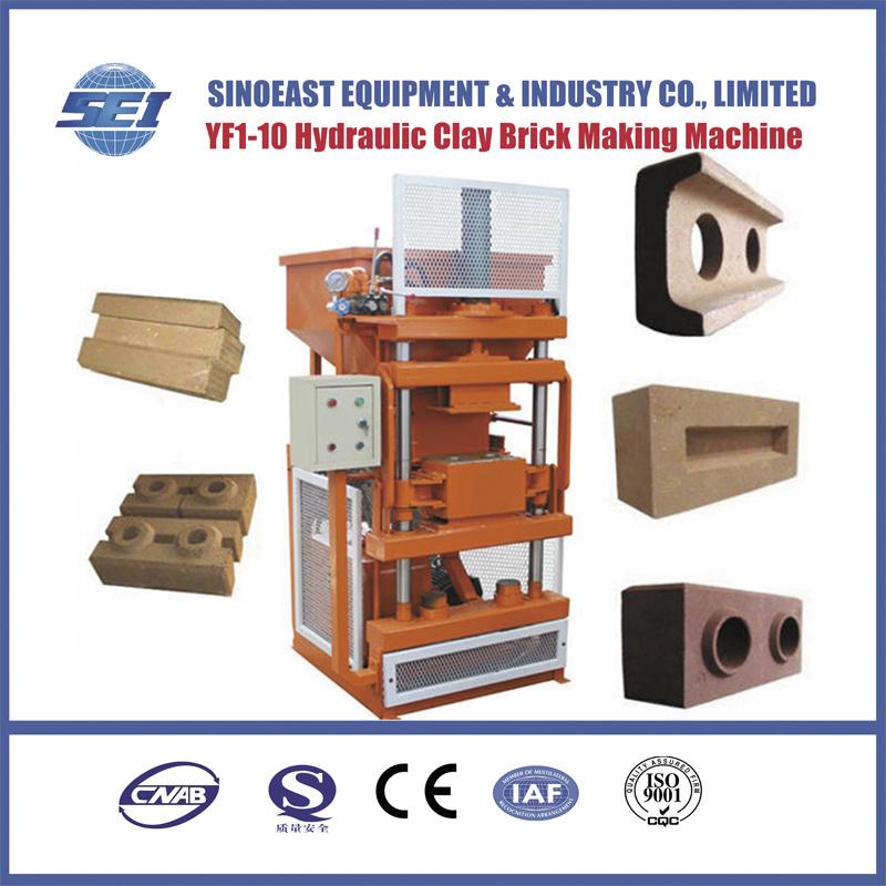 Sei 1-10 Automatic Hydraulic Clay Brick Making Machine