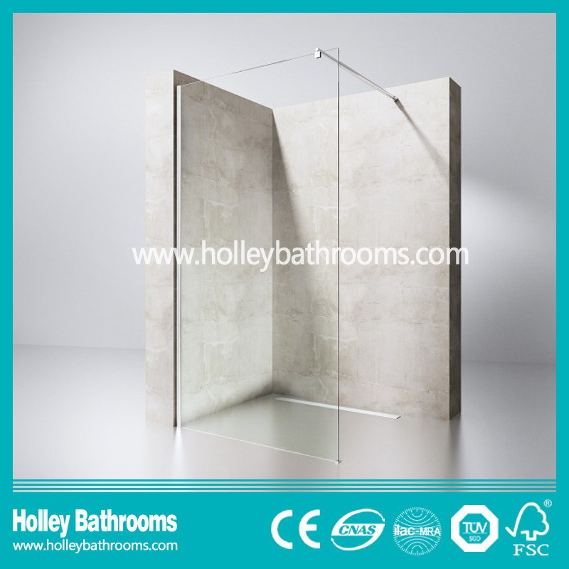 Walk-in Door Ground Glass Simple Shower Elclosure Door (SE716E)