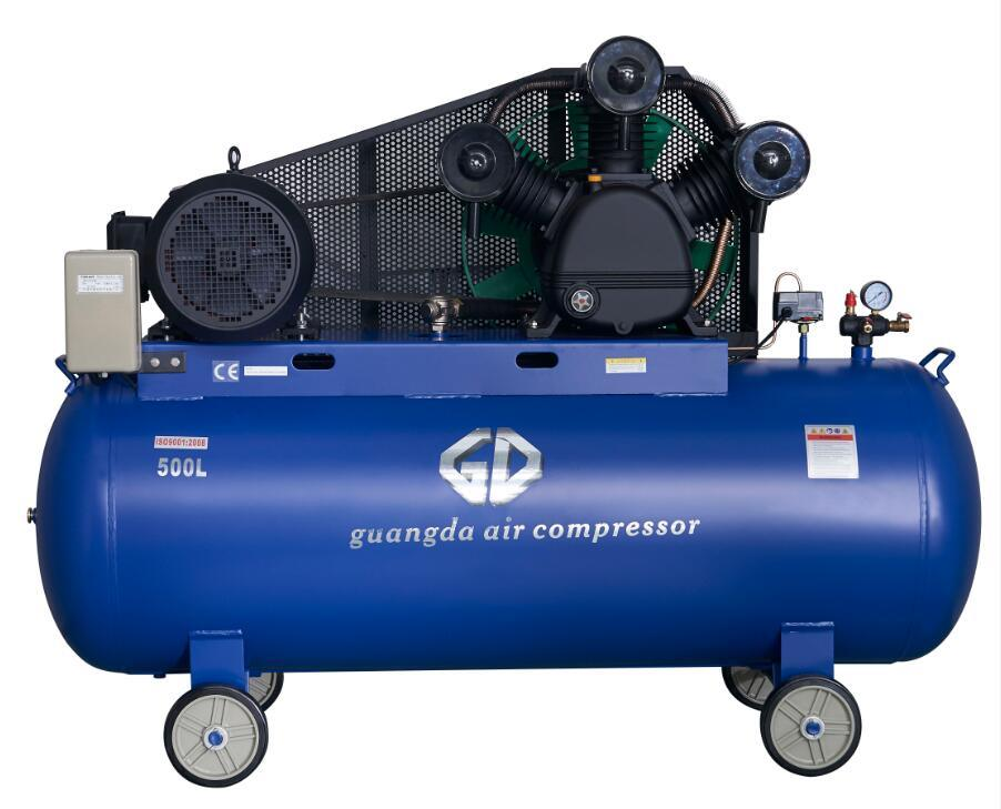 15HP 11kw 500L Industrial Air Compressor (W-1.6/8)