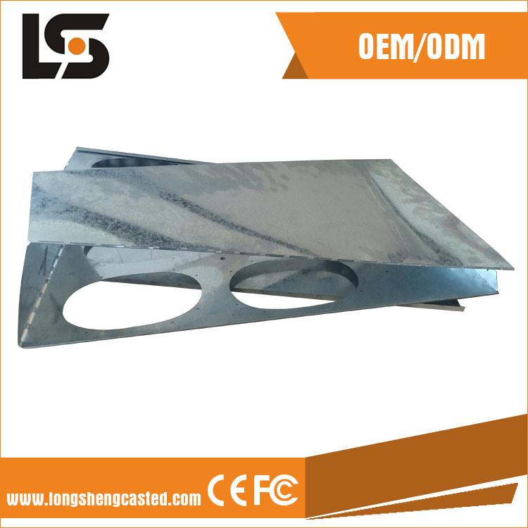 CNC Milling Machine Frame Sheet Metal Fabrication Stamping Parts Factory