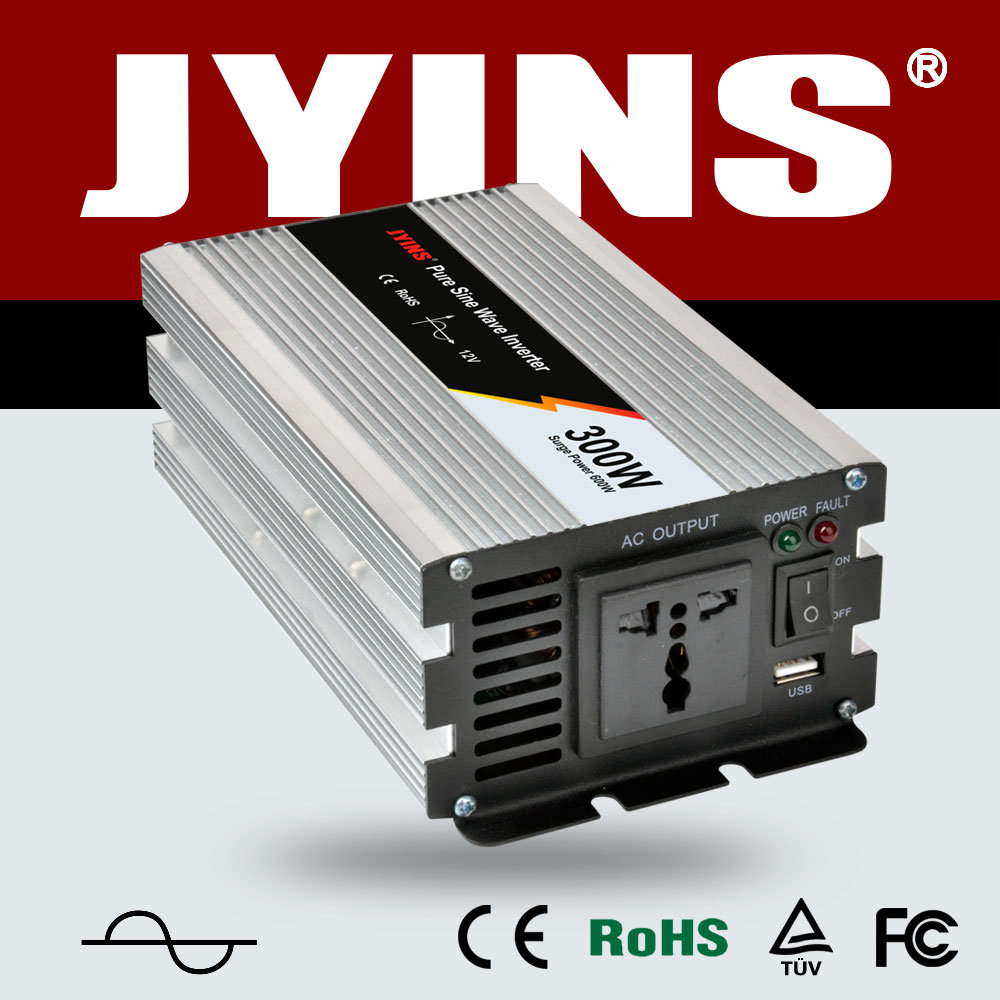 300W DC to AC off Grid Car Power Inverter