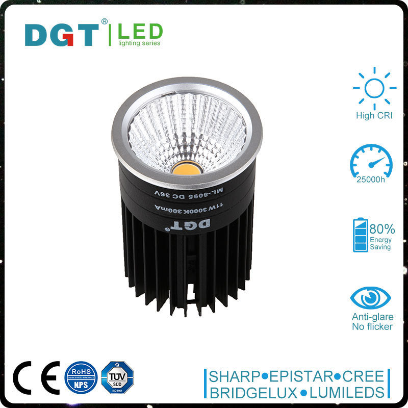 High Lumen 12W IP40 LED COB MR16 Spot Light
