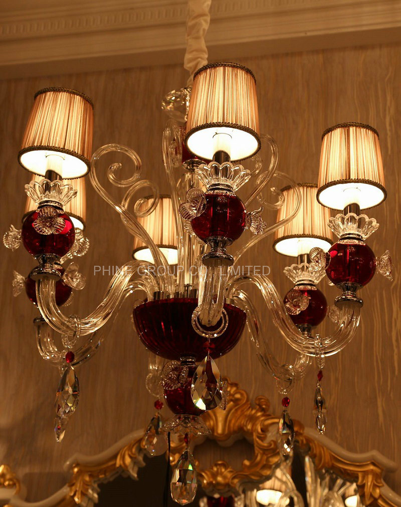 Phine Modern Crystal Decoration Pendant Fixture Lamp, Chandelier