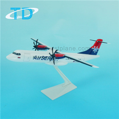 Air Sebia Atr72-500 27cm Scale Decorative Airplane Model