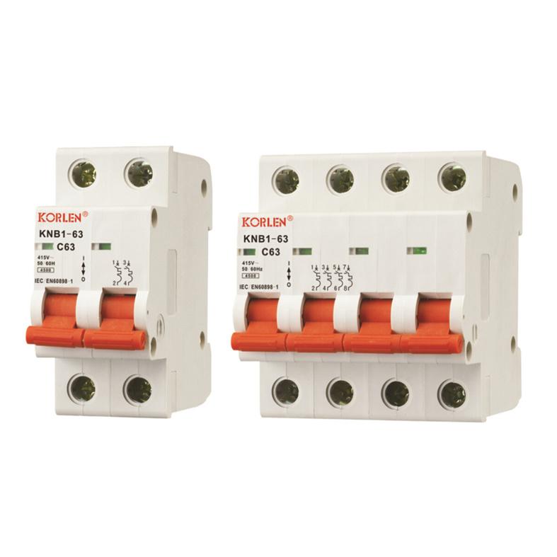 Knb1-63 High Quality Mini Circuit Breakers