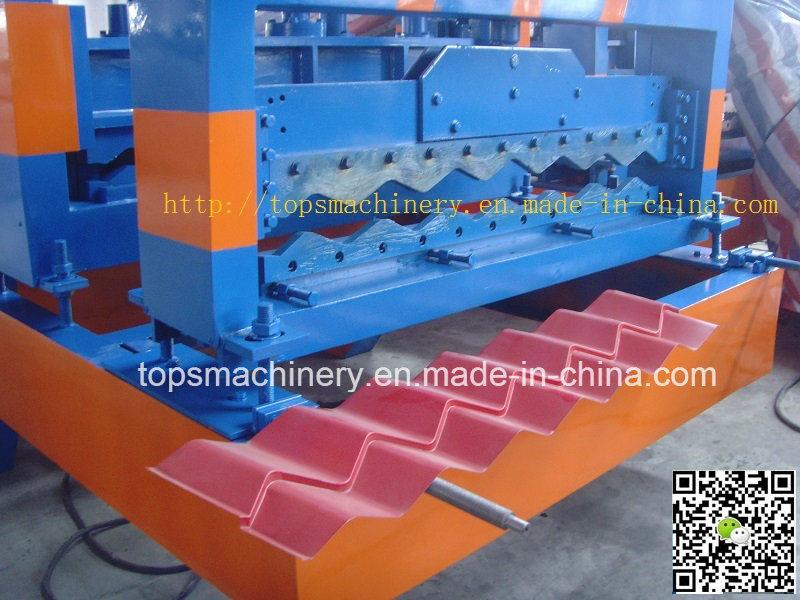 PPGI Glazed Roof Tile Roll Forming Machine