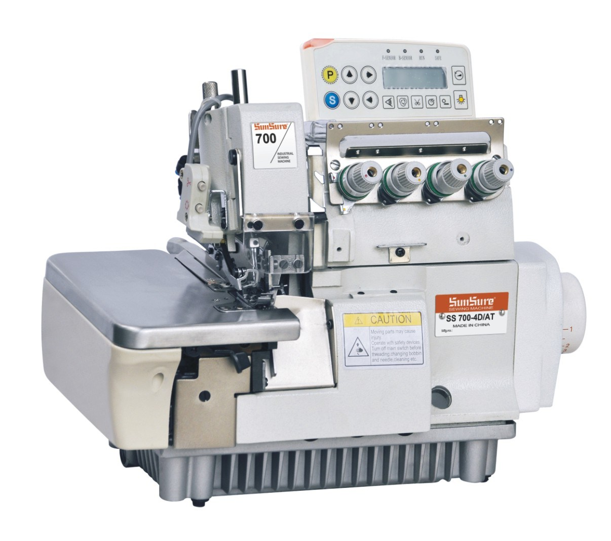 Full Automatic High Speed Computer Overlock Sewing Machine