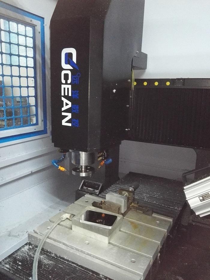 """""""Mirror"""" Machined Flat Finish on Aluminum Shiny Polishing CNC Machine"""