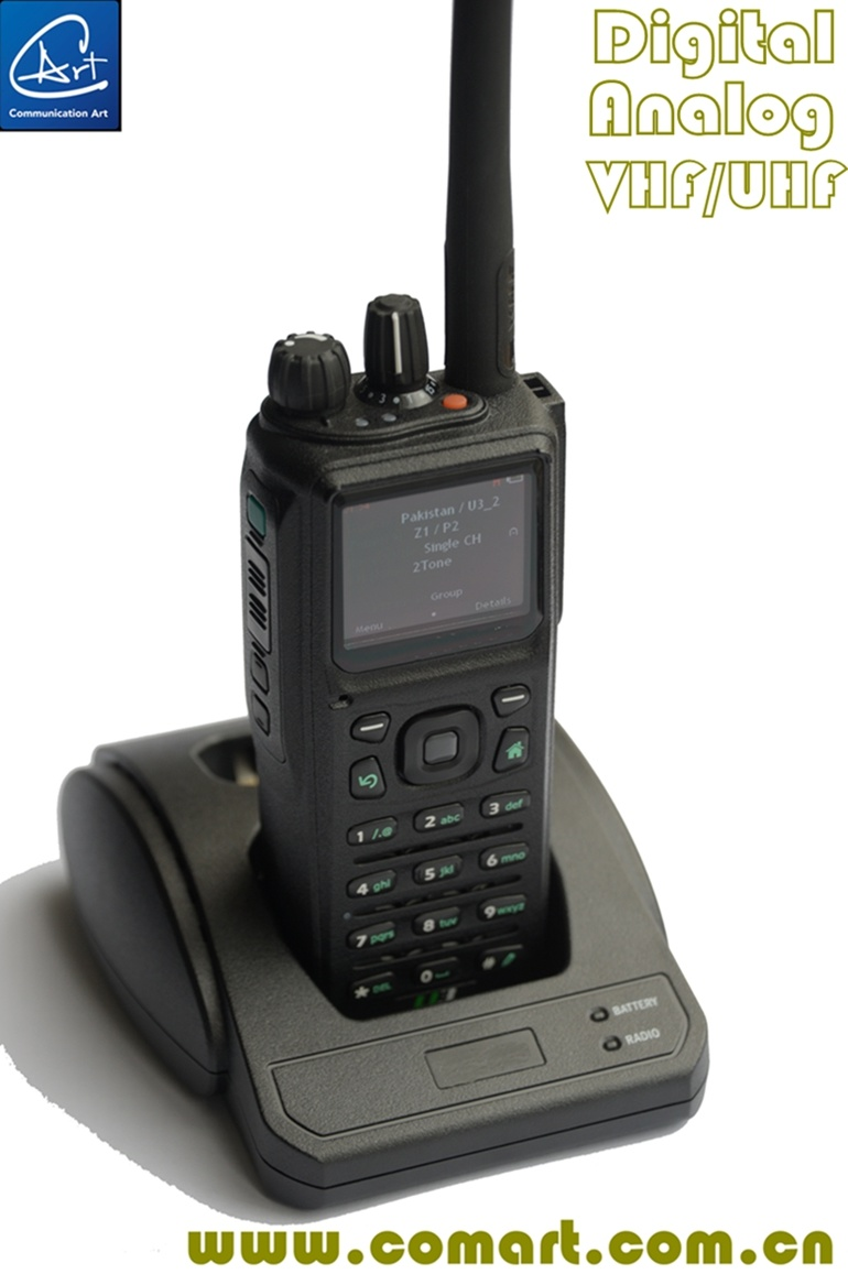 VHF/UHF Tactical Army Digital Portable Radio for Military/Public Safety /Police