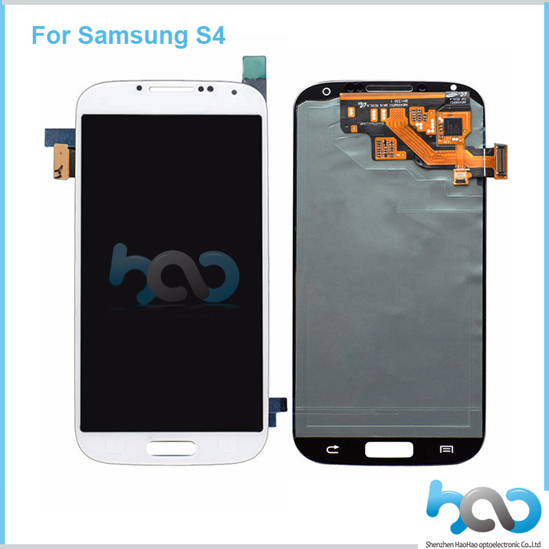 Mobile Phone Touch Screen Repair LCD for Samsung Galaxy S4 Assembly