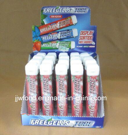 Freegells 9g Sugar Free Mint Compressed Candy in Display Box