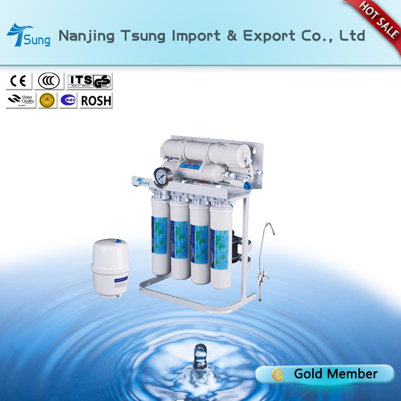 50gpd 6 Stages Water Treatment with Gauge Ty-RO-13