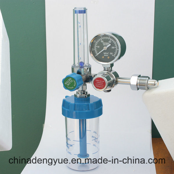 CE ISO Medical Oxygen Regulator with Flowmeter