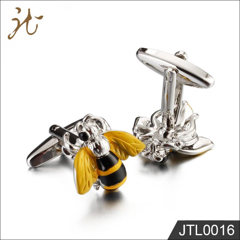 Fashiono Nice Quality Bee Shape Design Cuff Links for Sale