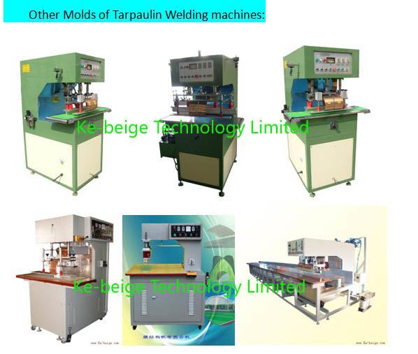 8kw Hf Tarpaulin Welding Machine for PVC Ceiling Welding
