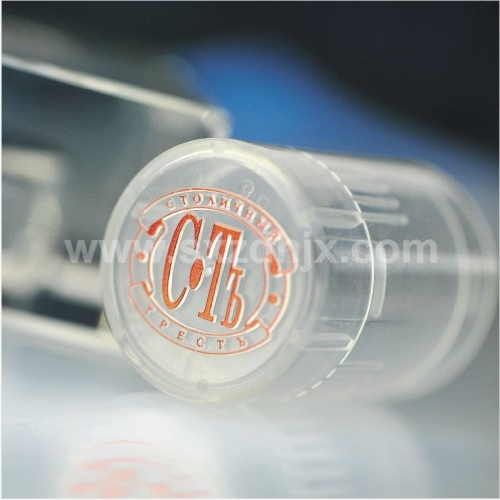 Automatic Cylinder Hot Foil Stamping Machine for Cap Top Surface