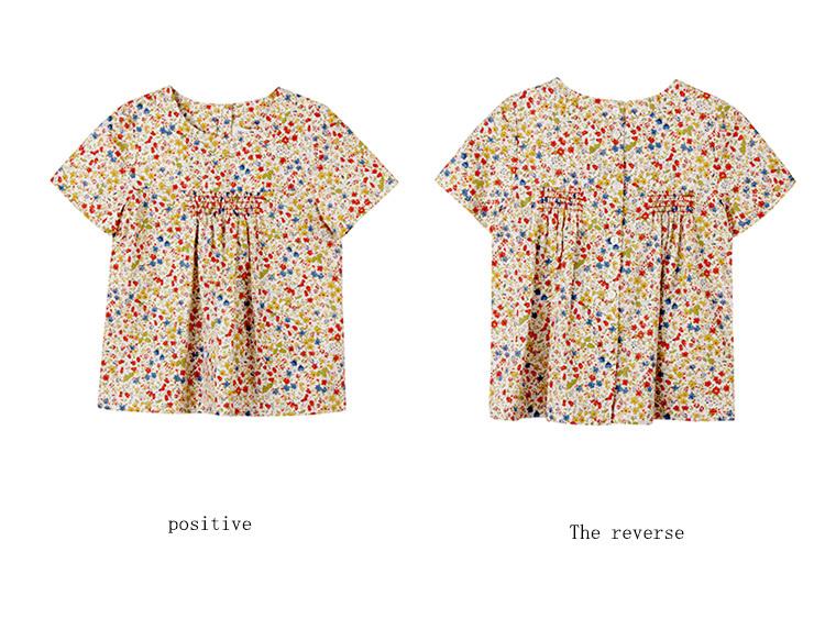 100% Cotton Woven Summer Baby Girl Clothes