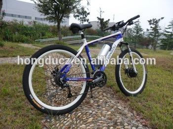 Trendy Design 36V 10.4ah Samsung Lithium Bottle Battery Mountain E-Bike