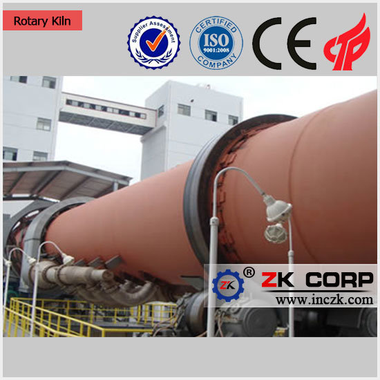 Energy-Saving Zk Rotary Kiln with Low Price