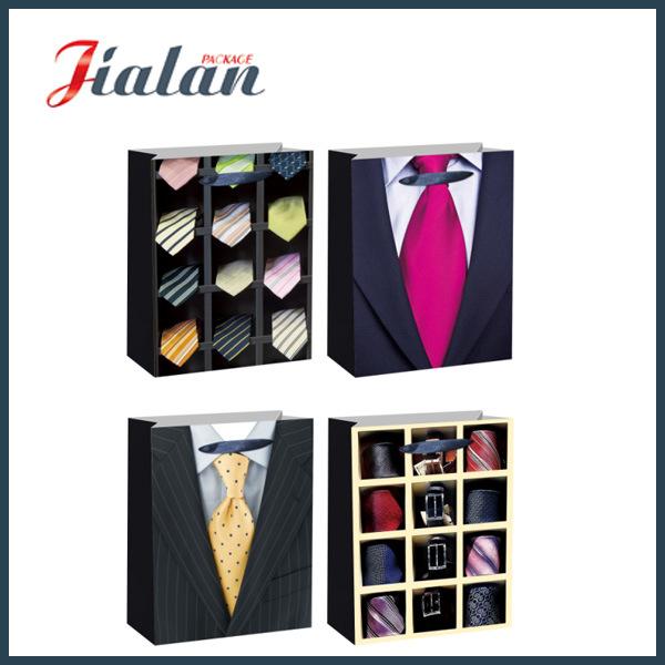 Cheap Promotion Man Design Factory Price Custom Paper Garments Bag