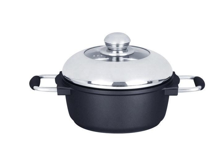 Cast Aluminum Pots and Double Pans Cookware Set Catering Equipment