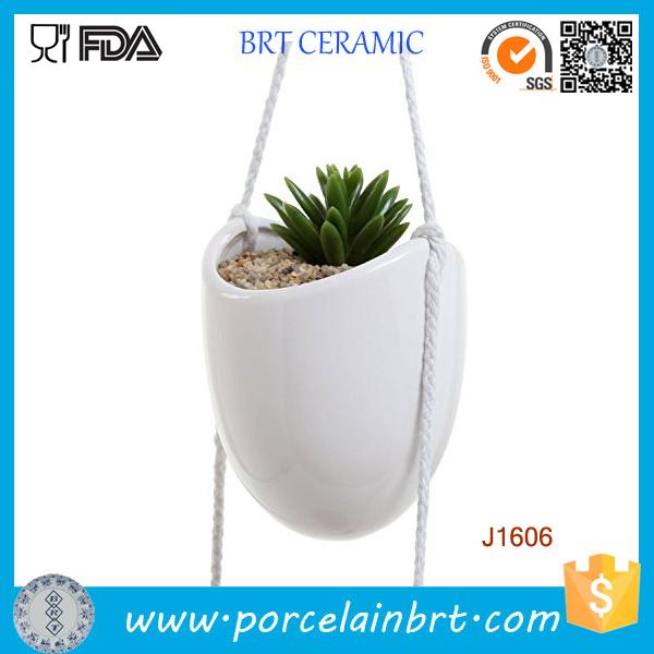 Indoor/Outdoor Wall/Hanging/Corner/Balcony Herb/Seed Ceramic/Terracotta Modern/Decorative/Concrete Large/Small Garden Planter Pot