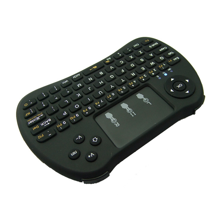 H9 Wireless Mini Keyboard 2.4G Remote Control Fly Air Mouse