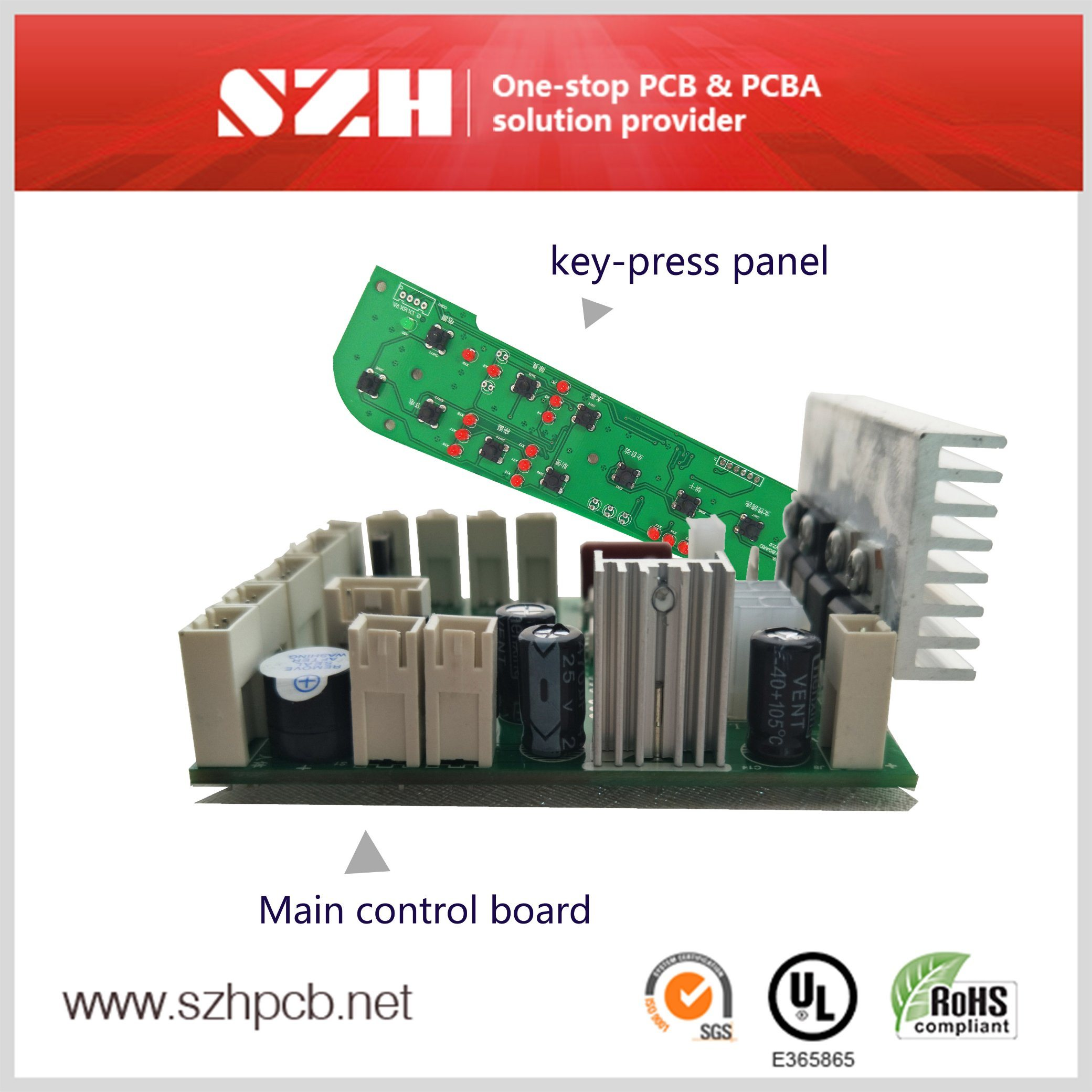 High Quality PCBA for Smart Toilet Seat Cover PCBA Board