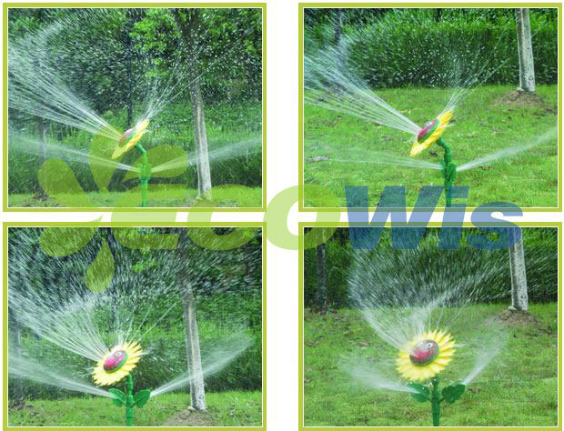 Lawn Sunflower Sprinkler Garden Sprinkler