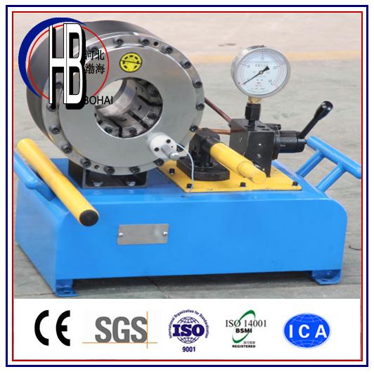 "P20HP Manual Hose Crimping Machine up to 2"" Hose"