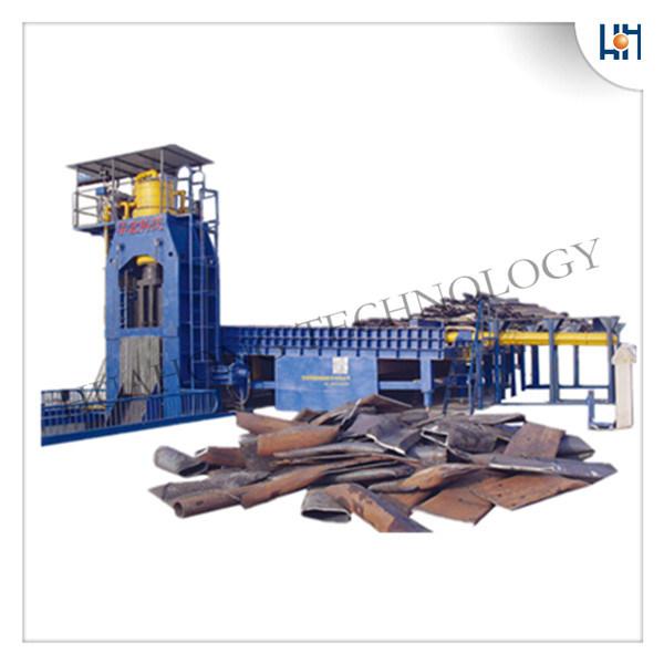 Hydraulic Heavy-Duty Scrap Baling Shear Machines