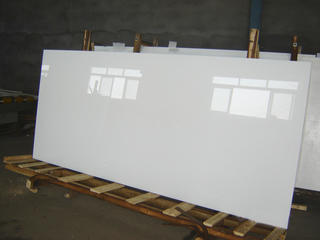 Milky puro White Glass para Facade –Milky puro White Glass ...