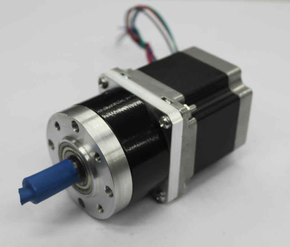 52mm Planetary Gear Reducer Gearbox with NEMA 23 Stepper Motor