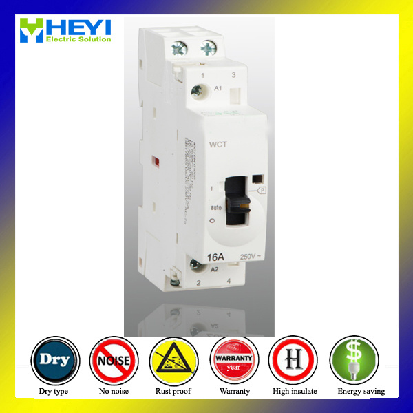 Telemecanique Contactor Coil 16A 2p 240V 2no Manual Operate Household Contactor