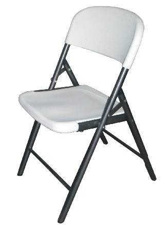China Plastic Blow Mold Folding Chair Outdoor Furniture
