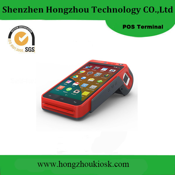 Smart Touch Screen Android Handheld POS Terminal with Printer