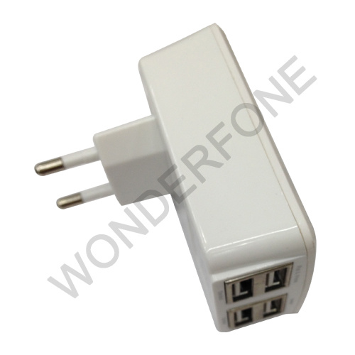 Four USB Charger Adaptor 3.1 a with Factory Price