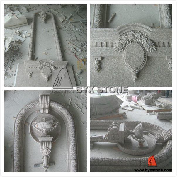 G664 Granite Architectural Moulding Niche for Project