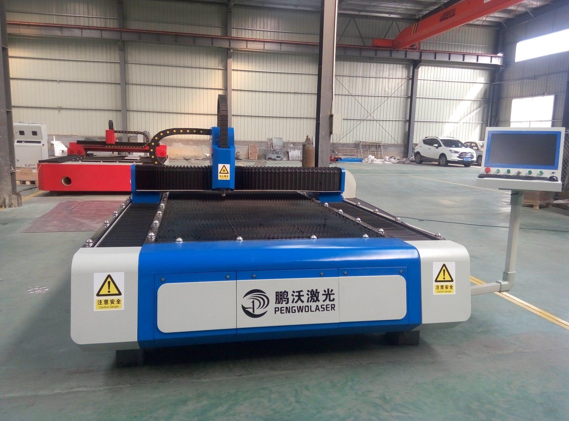 Automatic CNC Fiber Cutting Machine for Metal Sheet
