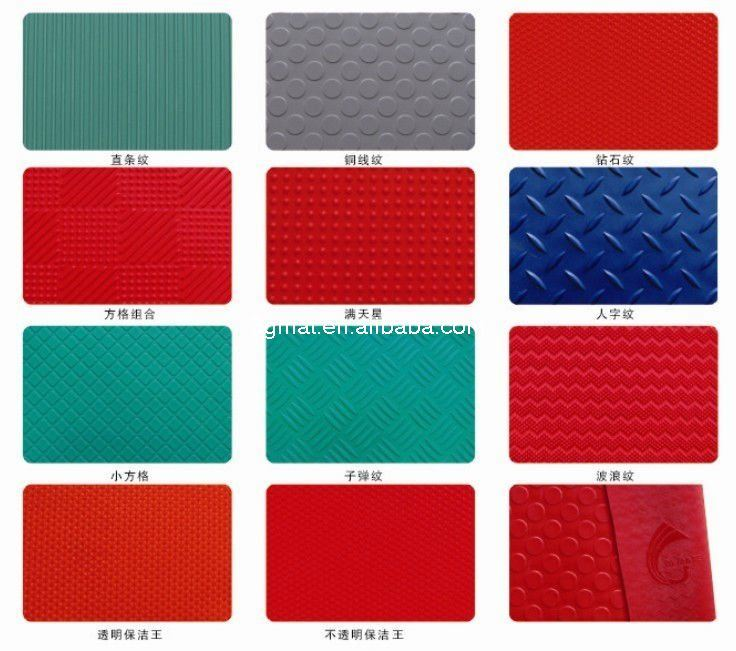2017 Hot Selling Antifatigue Mat Coin Carpet Cushion Coin Mat Vinyl Flooring (3G-COIN)