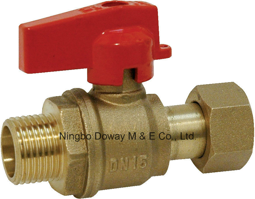 Brass Ball Valve for Water Meter Male End