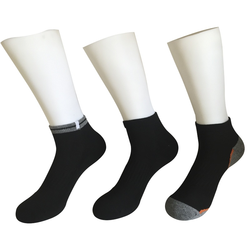 Half Cushion Cotton Fashion Outdoor Sport Ankle Socks (JMCOD09)