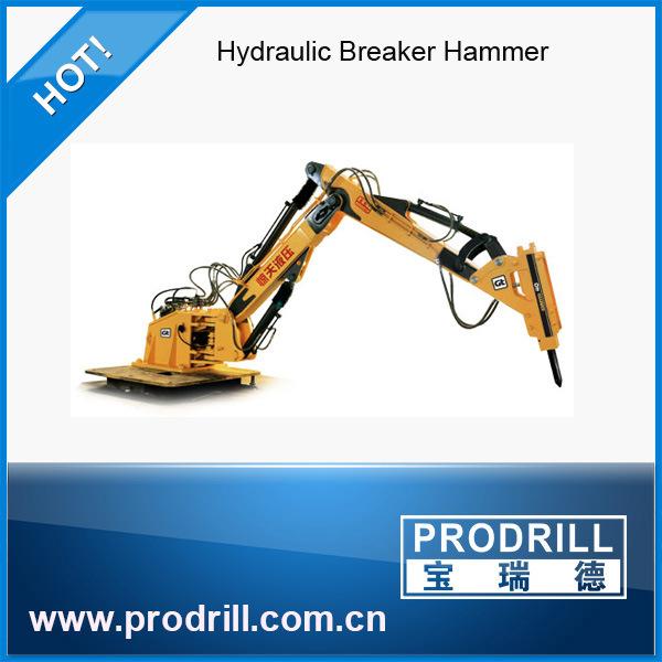 Hydraulic Mounted Rock Jack Breaker for Excavators Parts