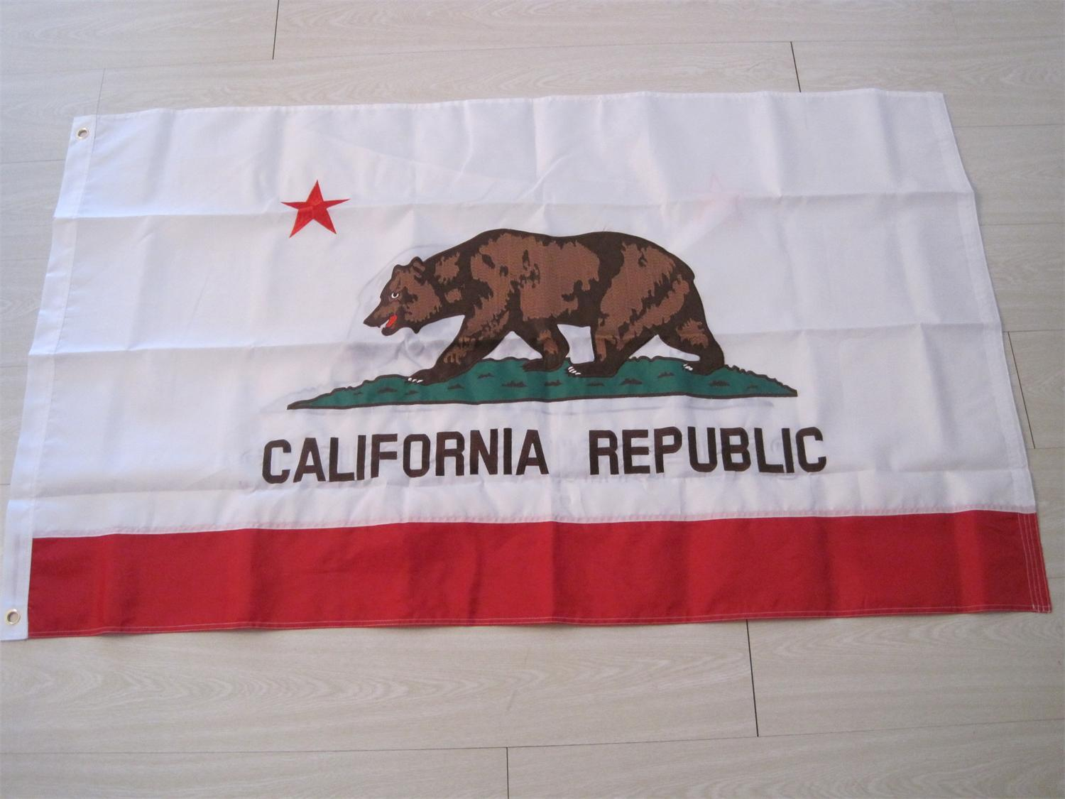 Printing Outdoor Display Polyester State Flag